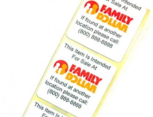 Custom Printed Security Labels for Retail Merchandise That Reduce Shrink, Promote a Brand & Much More