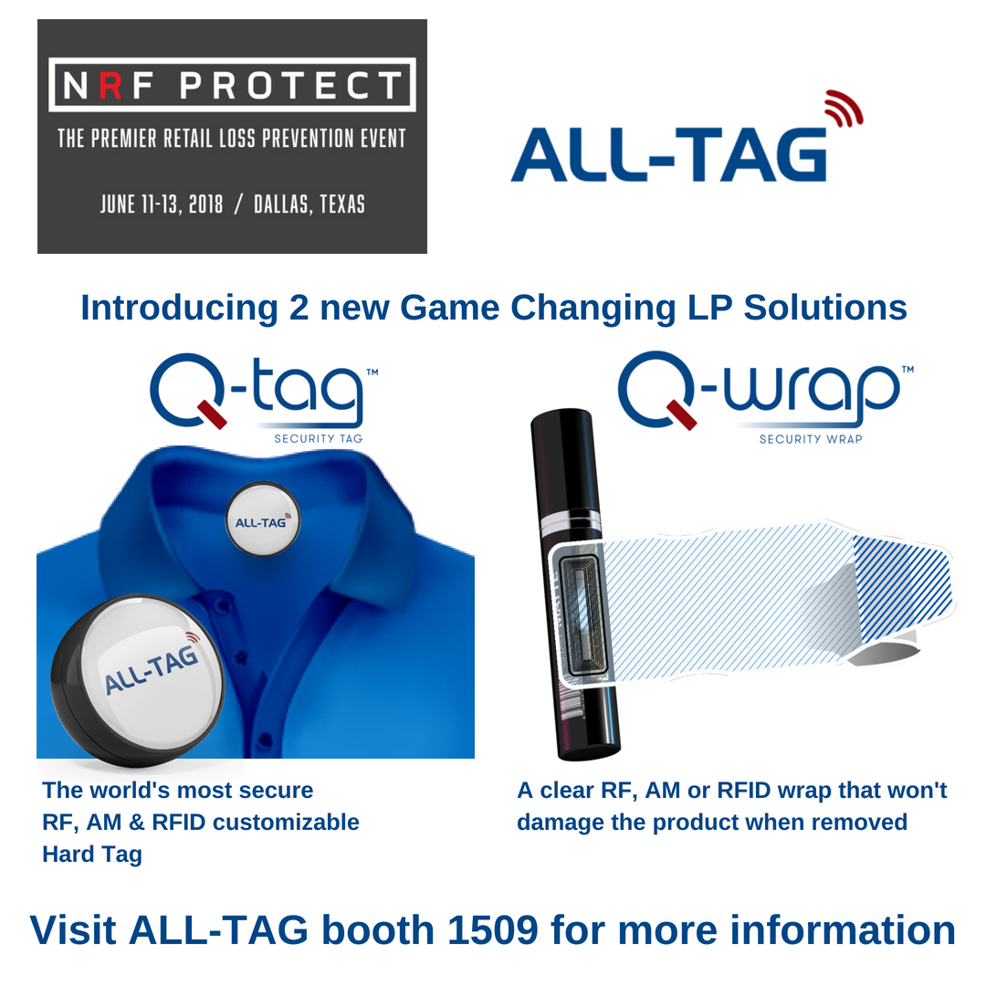 ALL-TAG's Two New Game Changing LP Solutions at NRF Protect 2018